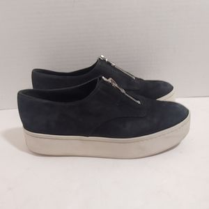 Vince zipper slip on sneakers